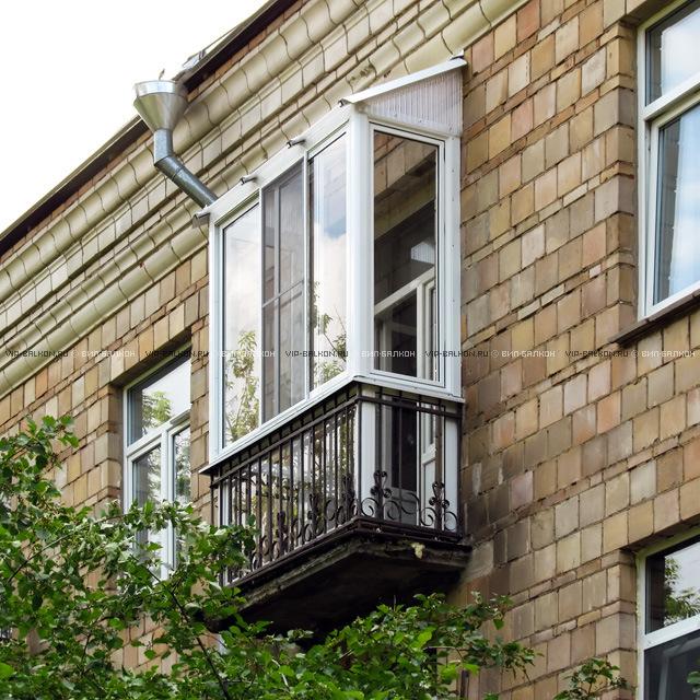 Французское остекление балконов в сталинках москвы..