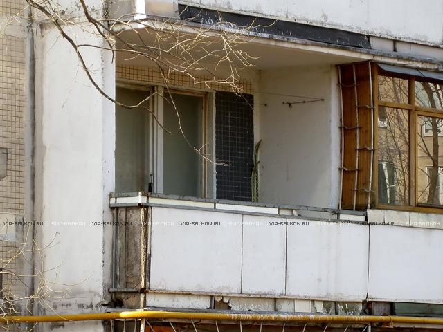 Балкон панельный дом своими руками