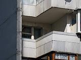 Цена теплого пвх остекления балкона серии п3-i.