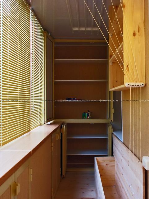 Полки и шкафы на лоджии