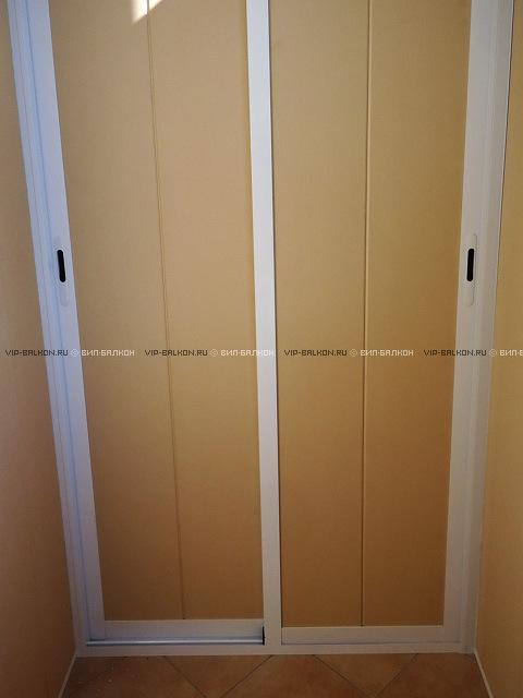 Двери для шкафа на балконе