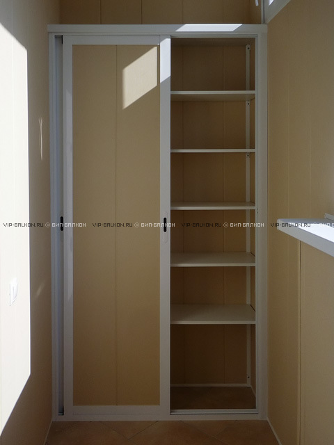 Шкафы на балконе своими руками фото