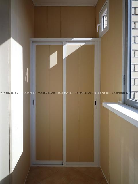 Шкаф из панелей пвх своими руками на балконе