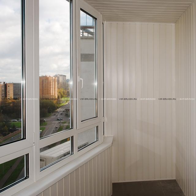 Типы остекления балконов и лоджий.